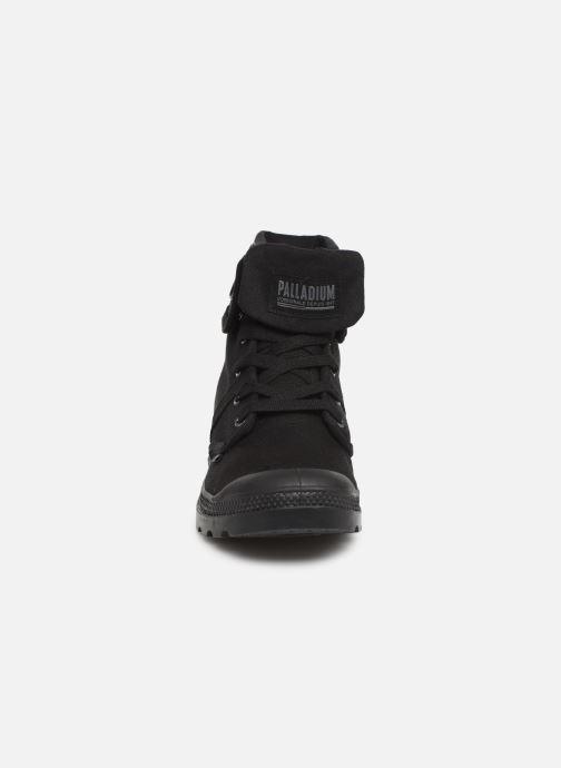 Baskets Palladium Pallabrousse Baggy H Noir vue portées chaussures