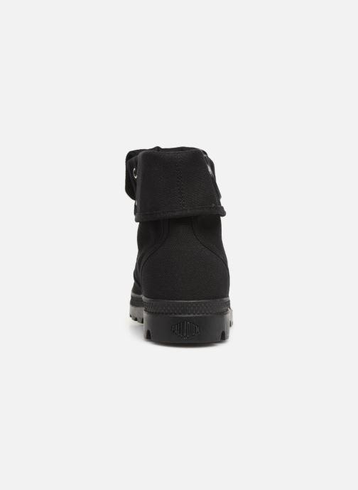 Sneakers Palladium Pallabrousse Baggy H Zwart rechts