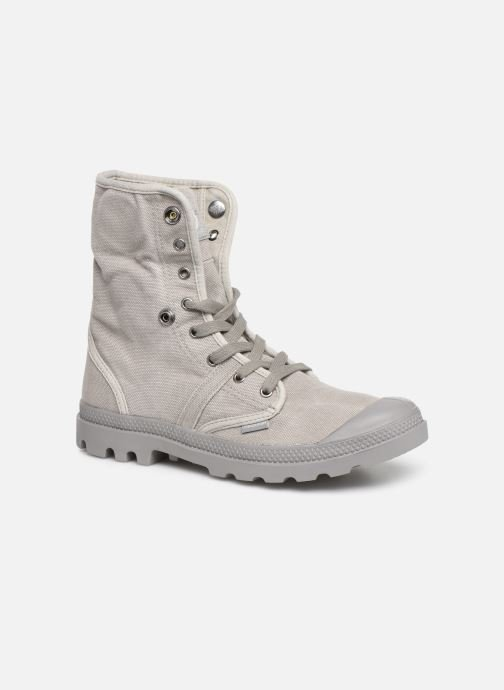 Trainers Palladium Pallabrousse Baggy H Grey 3/4 view