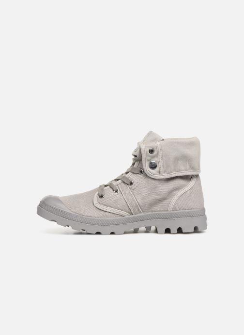 Sneakers Palladium Pallabrousse Baggy H Grijs voorkant