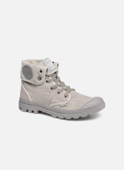 Sneakers Palladium Pallabrousse Baggy H Grijs detail