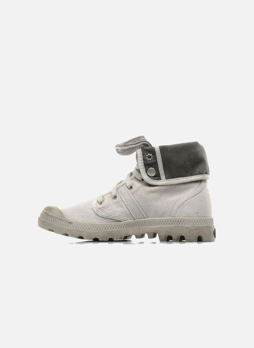 Sneakers Palladium Us Baggy H Grigio immagine frontale