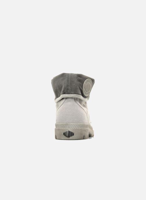Sneaker Palladium Pallabrousse Baggy H grau ansicht von rechts