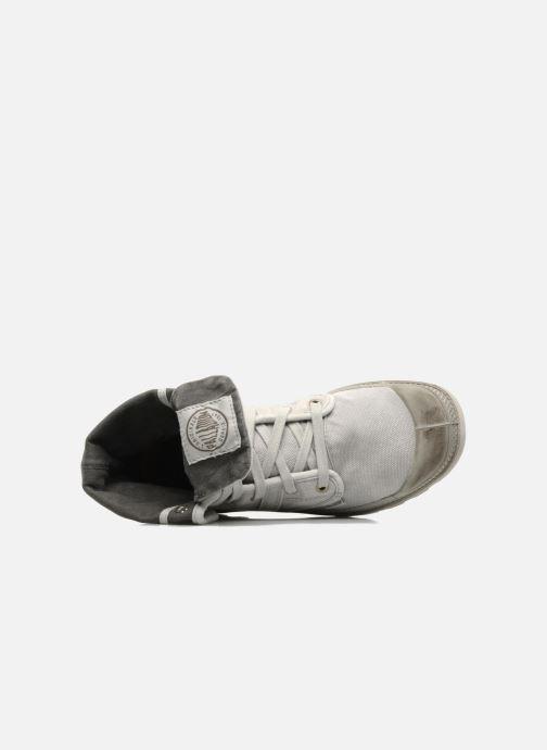Sneaker Palladium Pallabrousse Baggy H grau ansicht von links