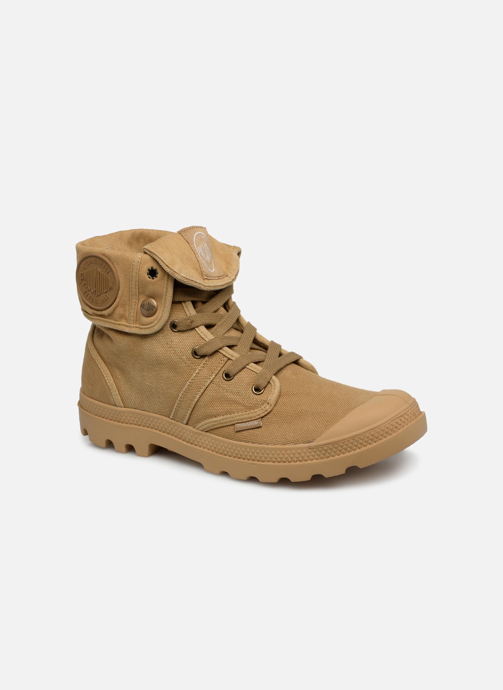 Palladium Us Baggy H (Beige) - Baskets en Más cómodo Dernières chaussures discount pour hommes et femmes
