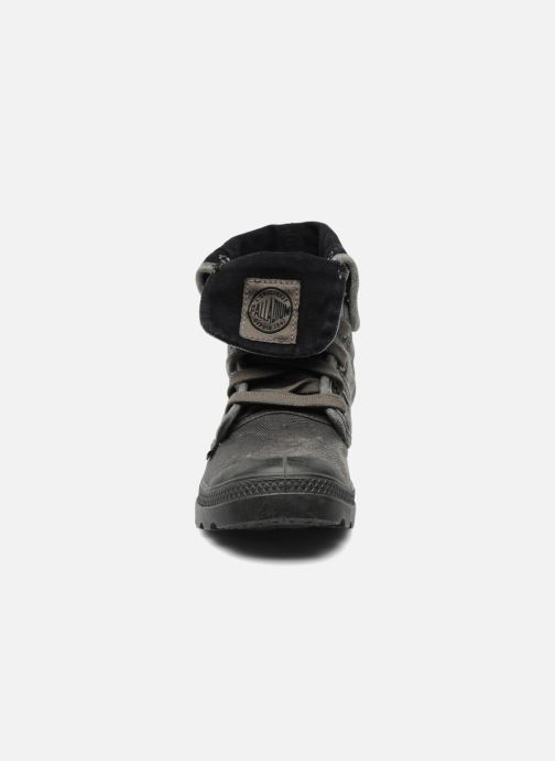 Sneaker Palladium Pallabrousse Baggy F grau schuhe getragen