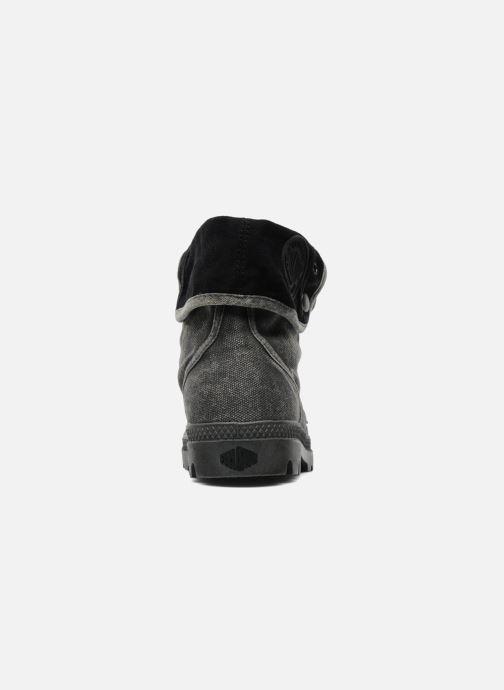 Sneaker Palladium Pallabrousse Baggy F grau ansicht von rechts