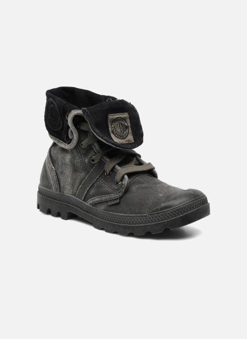 Sneakers Palladium Pallabrousse Baggy F Grijs detail