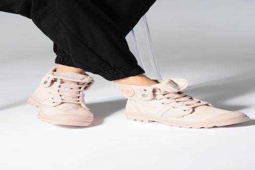 Sneakers Palladium Pallabrousse Baggy F Grijs onder