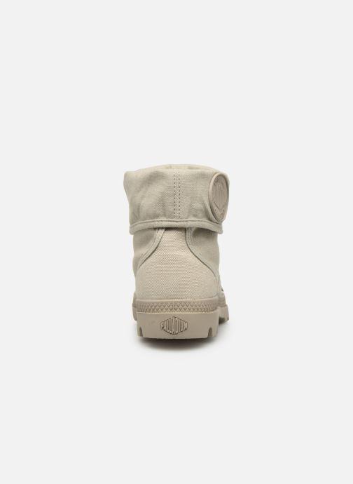 Sneakers Palladium Pallabrousse Baggy F Grijs achterkant