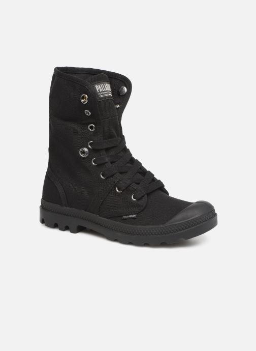 Sneaker Palladium Pallabrousse Baggy F schwarz 3 von 4 ansichten