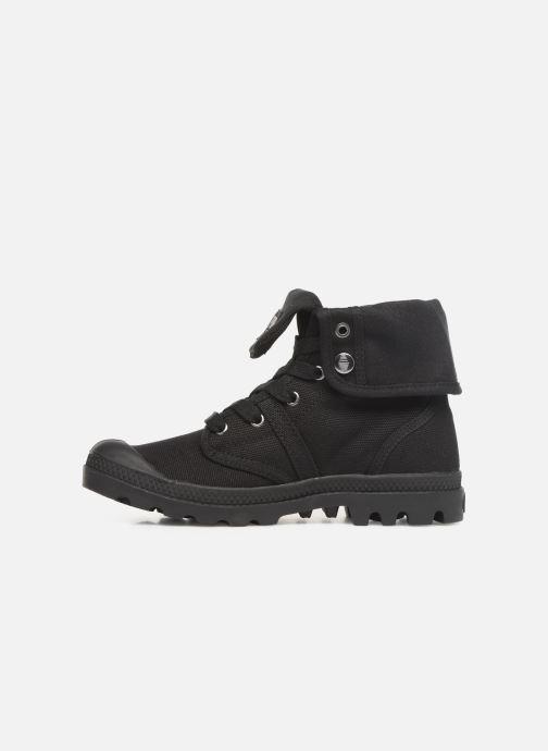 Sneaker Palladium Pallabrousse Baggy F schwarz ansicht von vorne