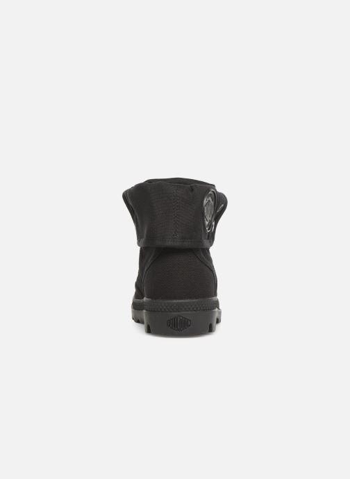 Sneaker Palladium Pallabrousse Baggy F schwarz ansicht von rechts
