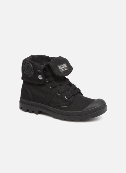 Sneaker Palladium Pallabrousse Baggy F schwarz detaillierte ansicht/modell