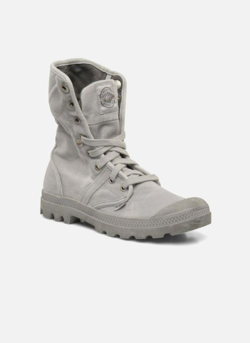 Sneakers Palladium Pallabrousse Baggy F Grigio immagine 3/4