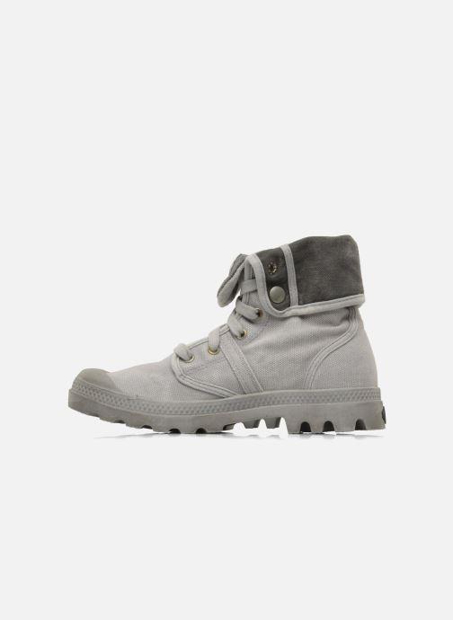Sneakers Palladium Pallabrousse Baggy F Grijs voorkant