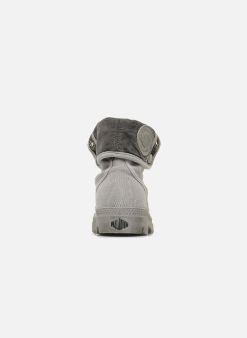 Sneakers Palladium Pallabrousse Baggy F Grigio immagine destra