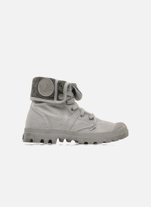 Sneaker Palladium Pallabrousse Baggy F grau ansicht von hinten