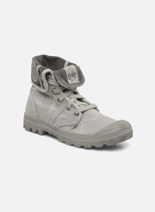 Trainers Palladium Pallabrousse Baggy F Grey detailed view/ Pair view