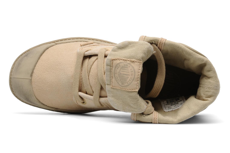 Sneaker Palladium Us Baggy F beige ansicht von links