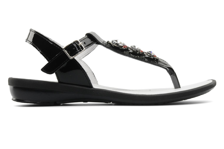 Sandales et nu-pieds Ramdam by GBB Felicia Noir vue derrière