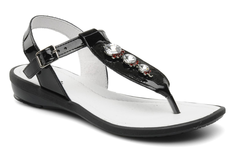 Sandales et nu-pieds Ramdam by GBB Felicia Noir vue détail/paire