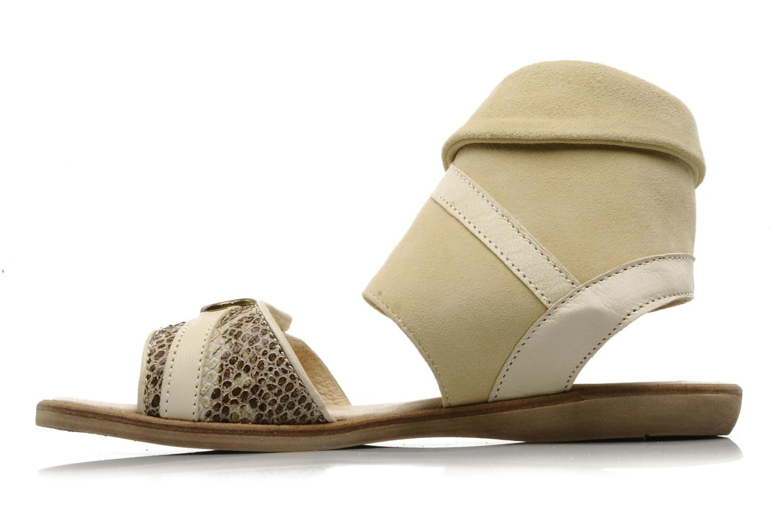 Sandals Hip Hiloa Beige front view
