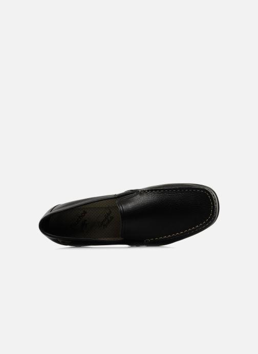 Loafers Fluchos Baltico 7149 Svart bild från vänster sidan