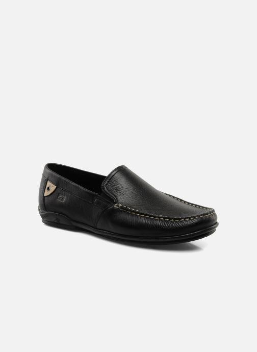 Loafers Fluchos Baltico 7149 Sort detaljeret billede af skoene
