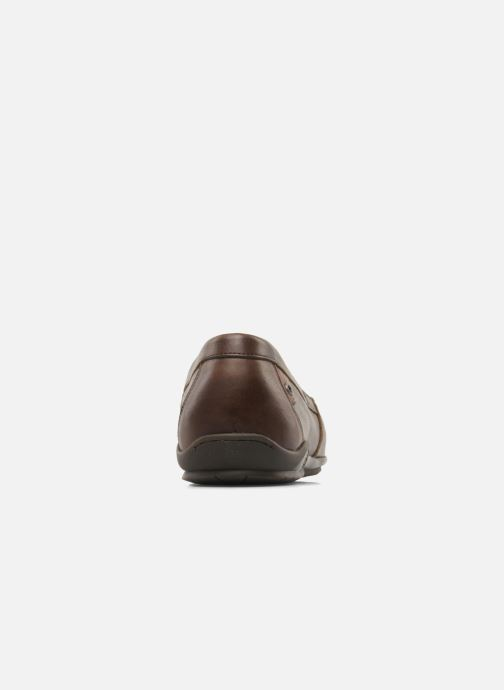 Loafers Fluchos Baltico 7149 Brown view from the right