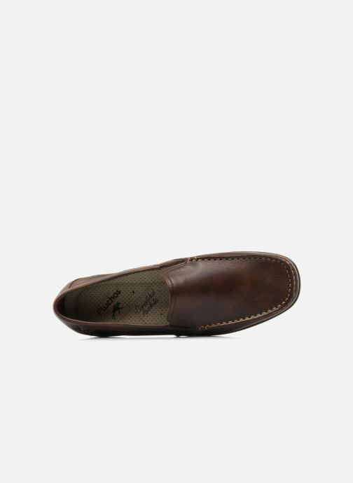 Mocassins Fluchos Baltico 7149 Marron vue gauche