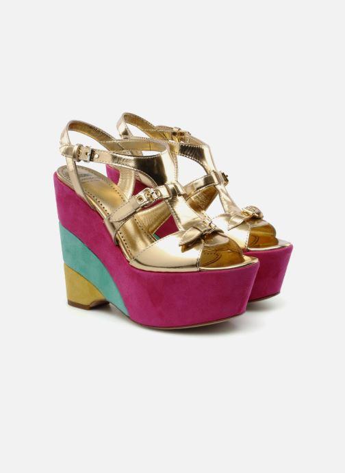 Sandals Moschino Cheap & Chic Cepale Multicolor 3/4 view