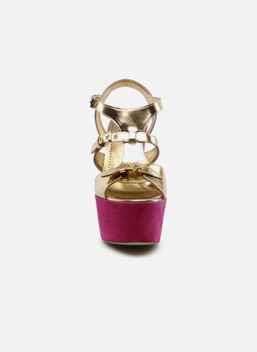 Sandals Moschino Cheap & Chic Cepale Multicolor model view