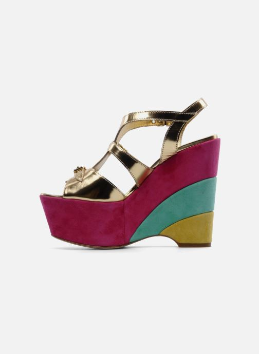 Sandals Moschino Cheap & Chic Cepale Multicolor front view