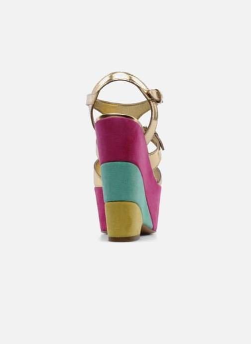 Sandals Moschino Cheap & Chic Cepale Multicolor view from the right