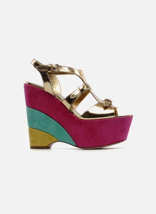 Sandals Moschino Cheap & Chic Cepale Multicolor back view