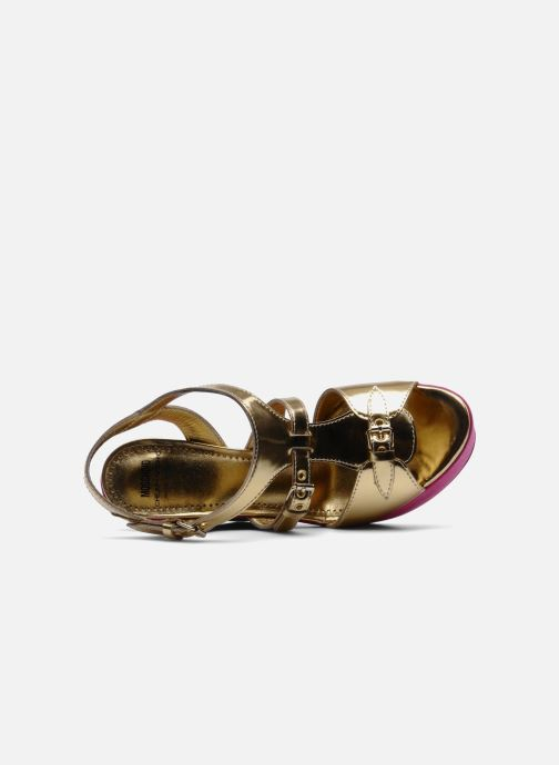 Sandals Moschino Cheap & Chic Cepale Multicolor view from the left