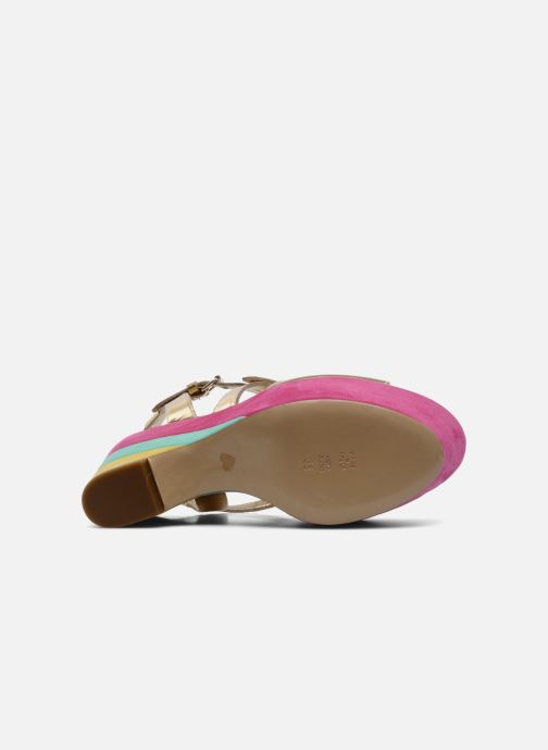 Sandals Moschino Cheap & Chic Cepale Multicolor view from above