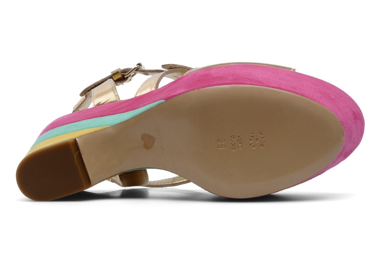 Sandales et nu-pieds Moschino Cheap & Chic Cepale Multicolore vue haut