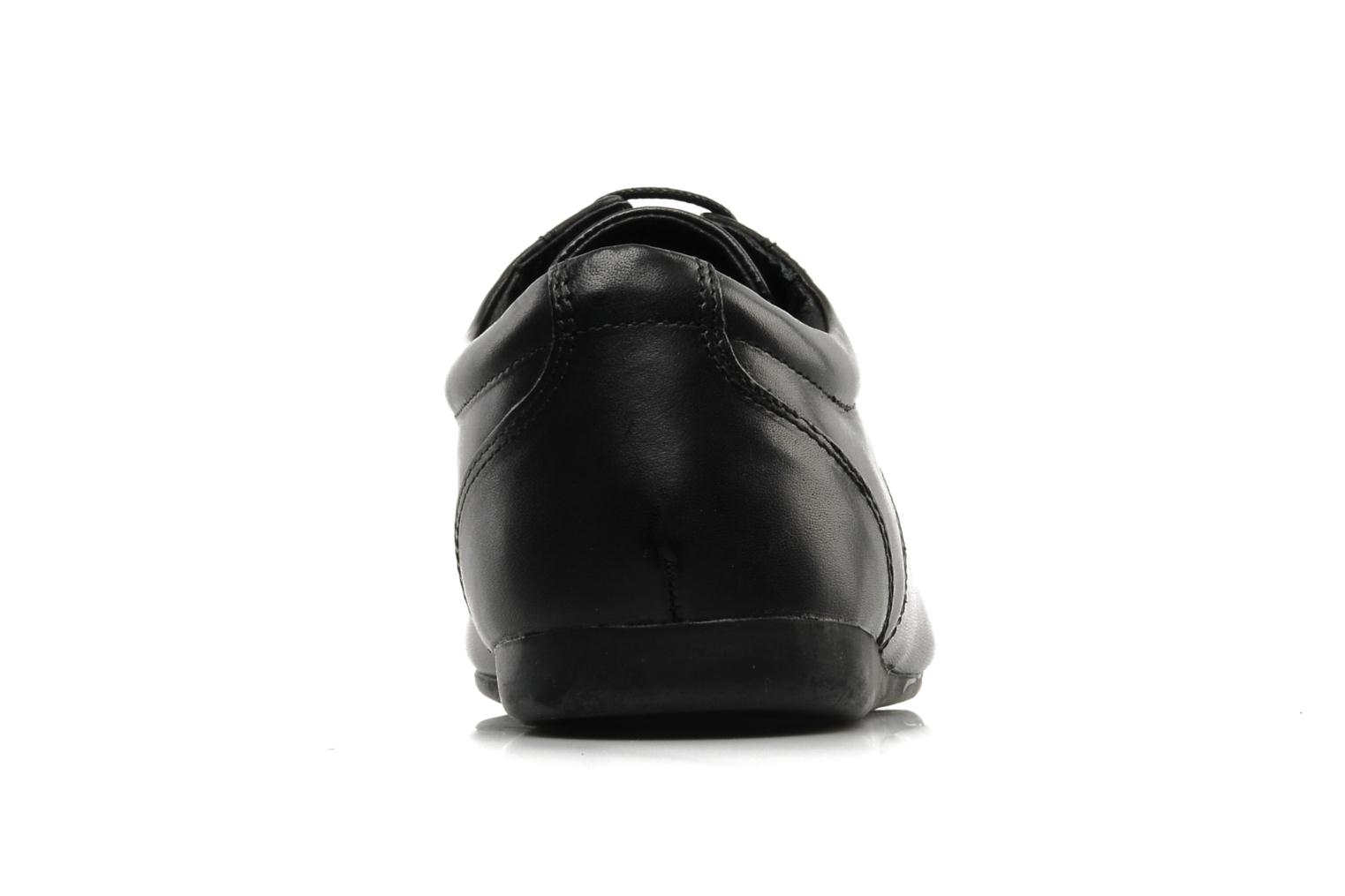 Lace-up shoes Schmoove Fidji New Derby Lucas Leather Black view from the right