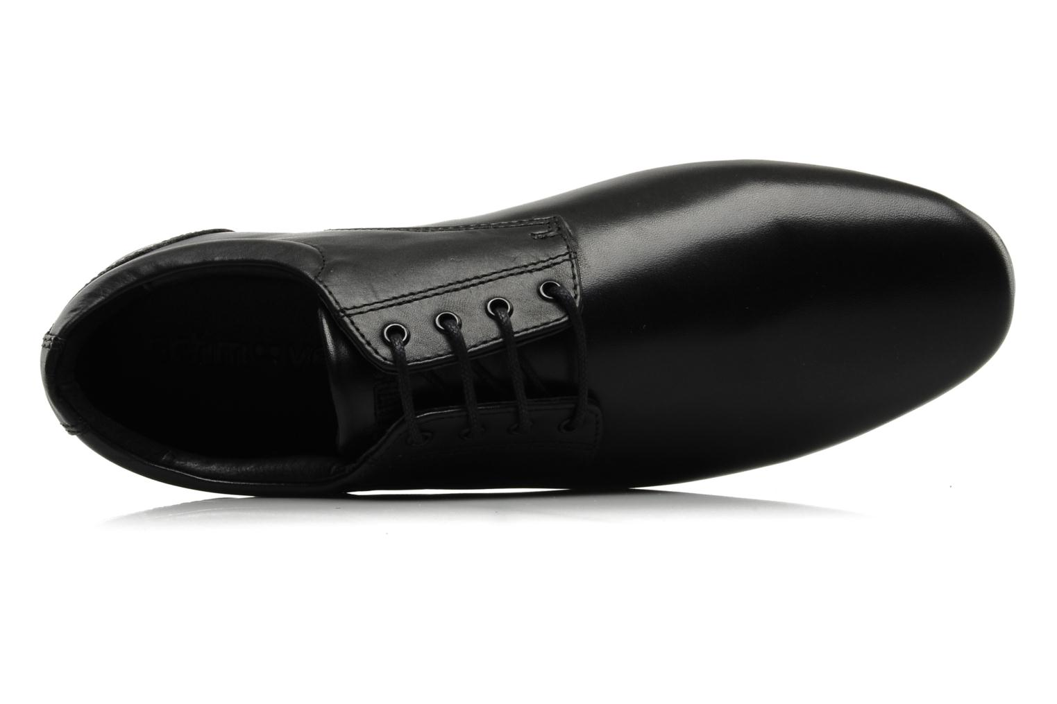 Lace-up shoes Schmoove Fidji New Derby Lucas Leather Black view from the left