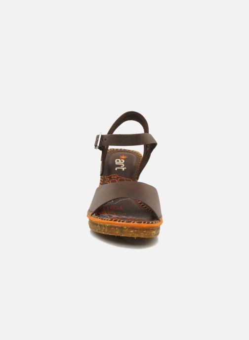 Sandales et nu-pieds Art Amsterdam 325 Marron vue portées chaussures