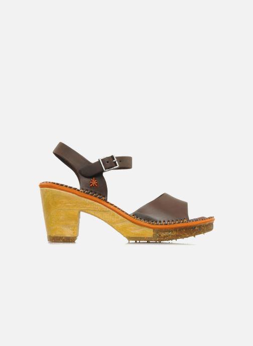 Sandales et nu-pieds Art Amsterdam 325 Marron vue derrière