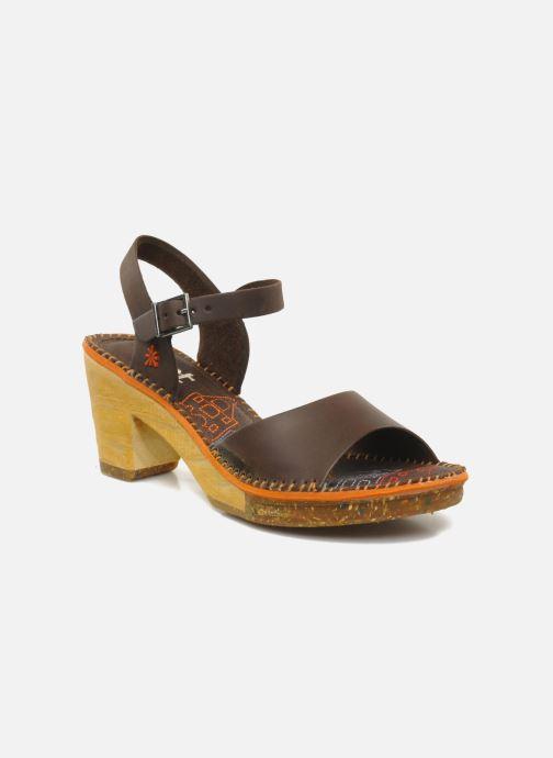 Sandales et nu-pieds Art Amsterdam 325 Marron vue détail/paire