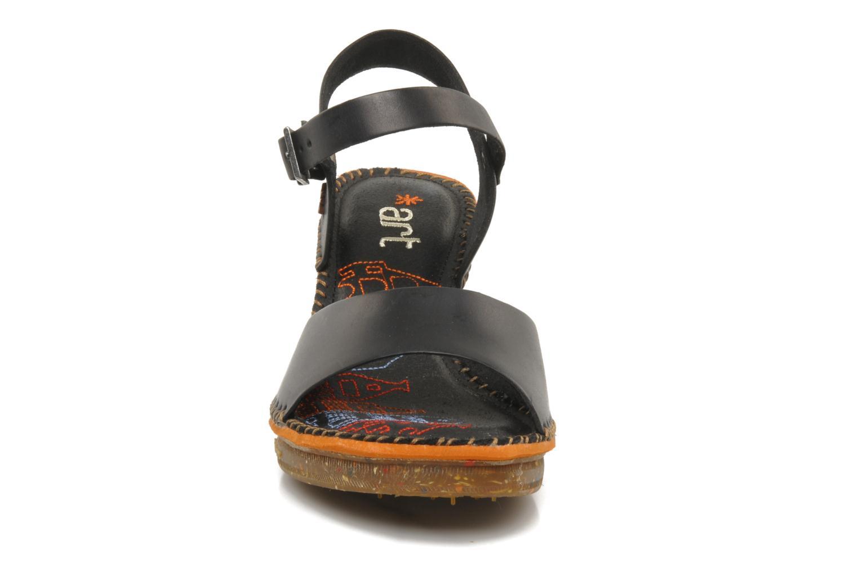 Sandales et nu-pieds Art Amsterdam 325 Noir vue portées chaussures