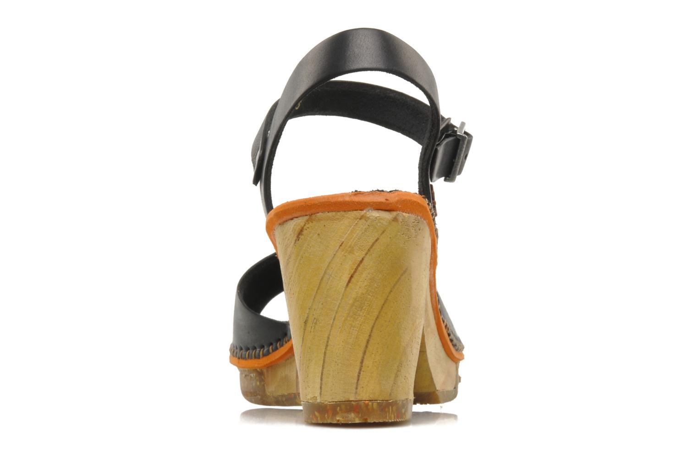 Sandales et nu-pieds Art Amsterdam 325 Noir vue droite