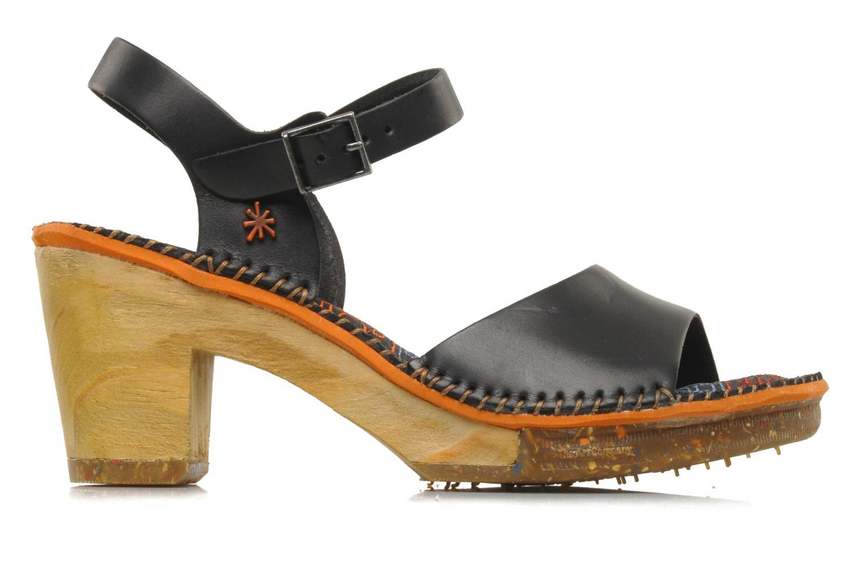 Sandales et nu-pieds Art Amsterdam 325 Noir vue derrière