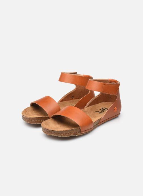 Sandalen Art Creta 440 braun ansicht von unten / tasche getragen