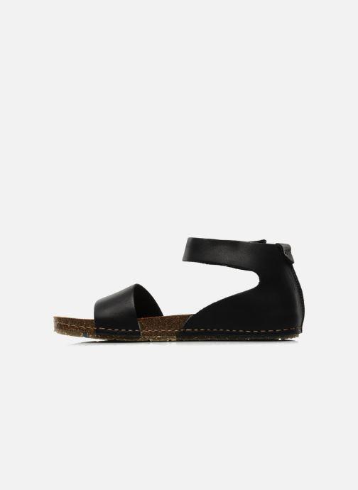 Sandales et nu-pieds Art Creta 440 Noir vue face
