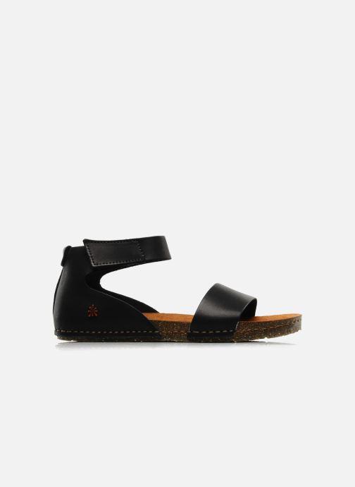 Sandali e scarpe aperte Art Creta 440 Nero immagine posteriore